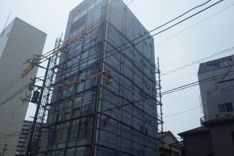 弊社社屋の外壁改修工事